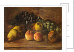 Still Life with Fruit and a Glass Bowl by George Walter Harris