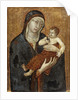 Madonna and Child by Siennese School