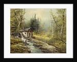 Waxted Landscape Mill Wheel by J. Kugler