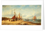 Coast Scene with Shipping by John Callow