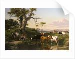 A Surrey Landscape by George Cole