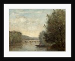 Landscape with Bridge by Jean Baptiste Corot