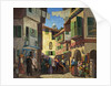 Street Scene in Spain by Bernard Ninnes