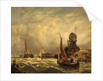 On the Scheldt by Anonymous