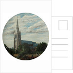 St. Peter's Bournemouth 1885 by A. E. Shelley