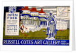 1922 Design for a Poster for the Russell-Cotes Art Gallery & Museum by Arthur Bell