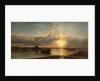 Seascape, Sunset by James Webb
