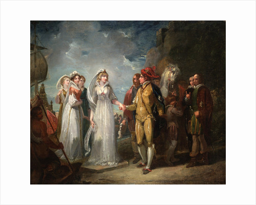 Love's Labour's Lost, Act II, Sc. i by Thomas Stothard