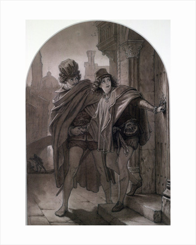The Merchant of Venice, Act II by Sir Joseph Noel Paton