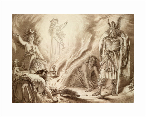 Macbeth, Act IV, Sc. i. by Sir Joseph Noel Paton