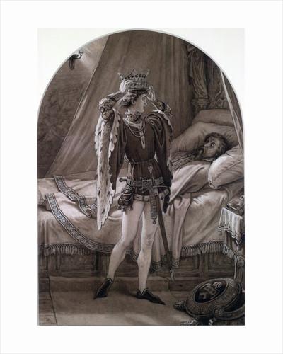 Henry IV, Pt. 2, Act IV, Sc. ii. by Sir Joseph Noel Paton
