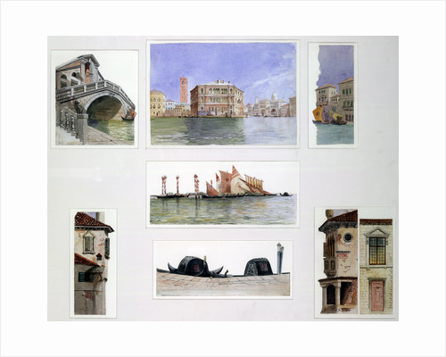 Set design for The Rialto, Merchant of Venice by John O'Connor