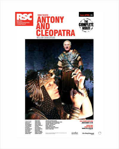 Antony and Cleopatra, 2006 by Gregory Doran