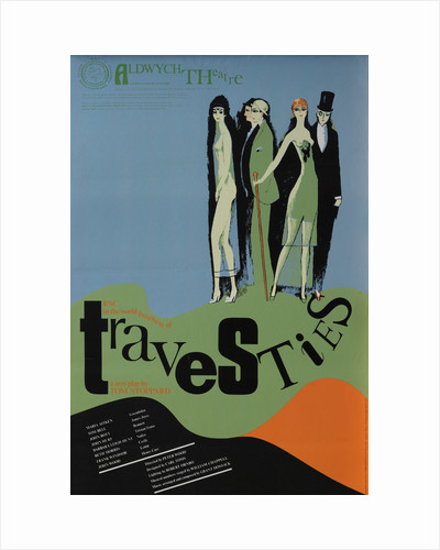 Travesties, 1974 by Peter Wood