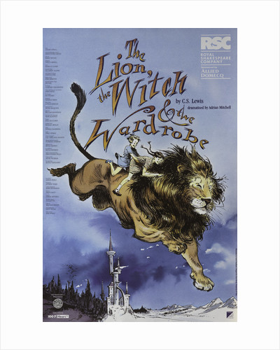 The Lion, The Witch and the Wardrobe, 1998 by Adrian Noble