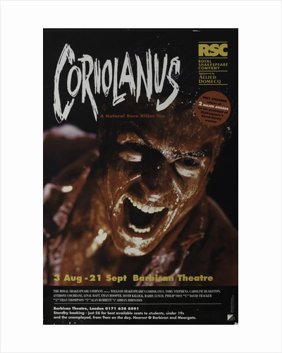 Coriolanus, 1995 by David Thacker