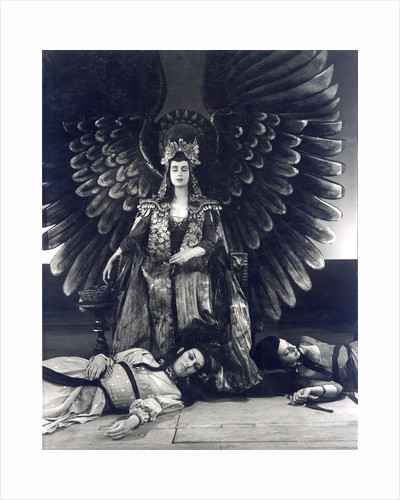 Antony and Cleopatra 1953, Cleopatra Iras and Charmian all commit suicide by Angus McBean