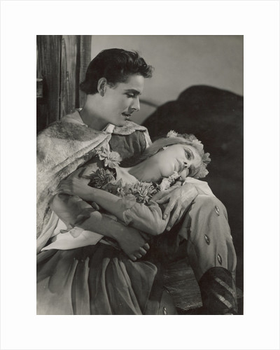 The Winters Tale 1948, Florizel and Perdita by Angus McBean