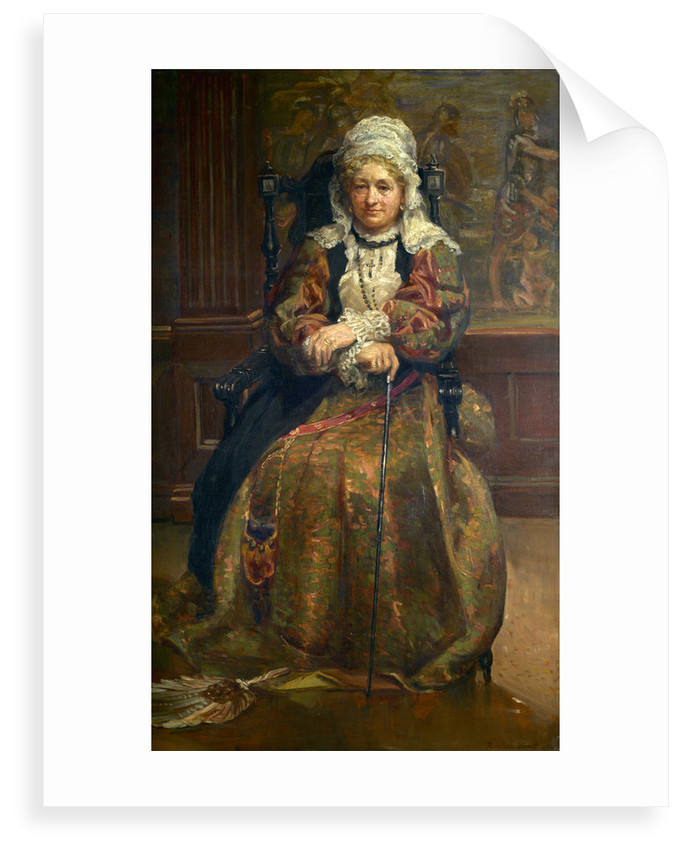 Mrs. Stirling (Lady Hutton Gregory) as the Nurse, Romeo and Juliet by Anna Lea Merritt
