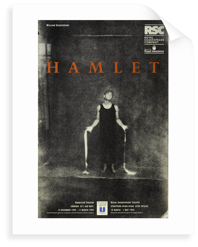 Hamlet, 1992/3 by Adrian Noble