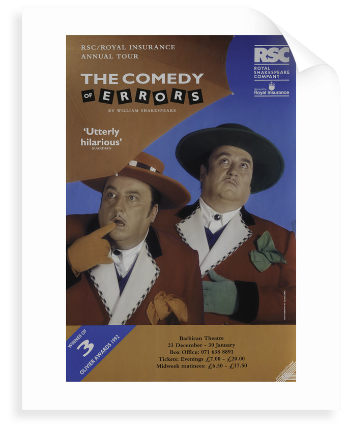 The Comedy of Errors, 1992/3 by Ian Judge