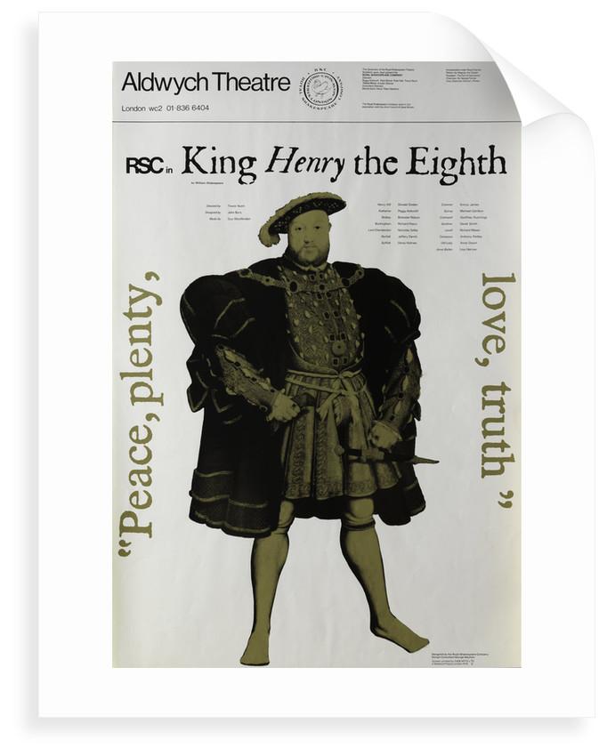 Henry VIII, 1970 by Trevor Nunn