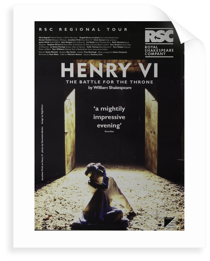Henry VI - The Battle for the Throne, 1994/5 by Katie Mitchell