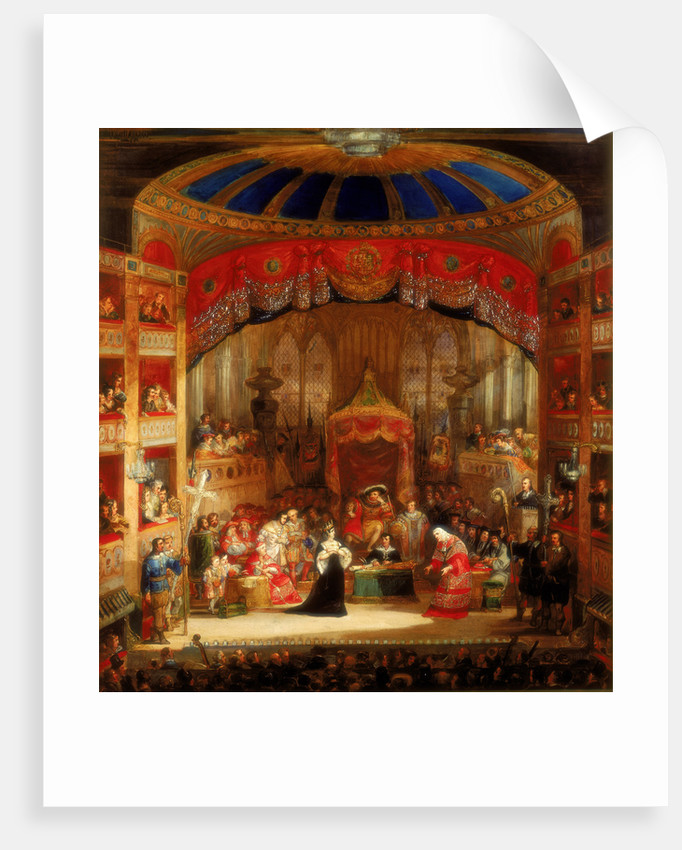 Henry VIII, Act II, Sc. iv, The Trial of Queen Katharine. by Henry Andrews