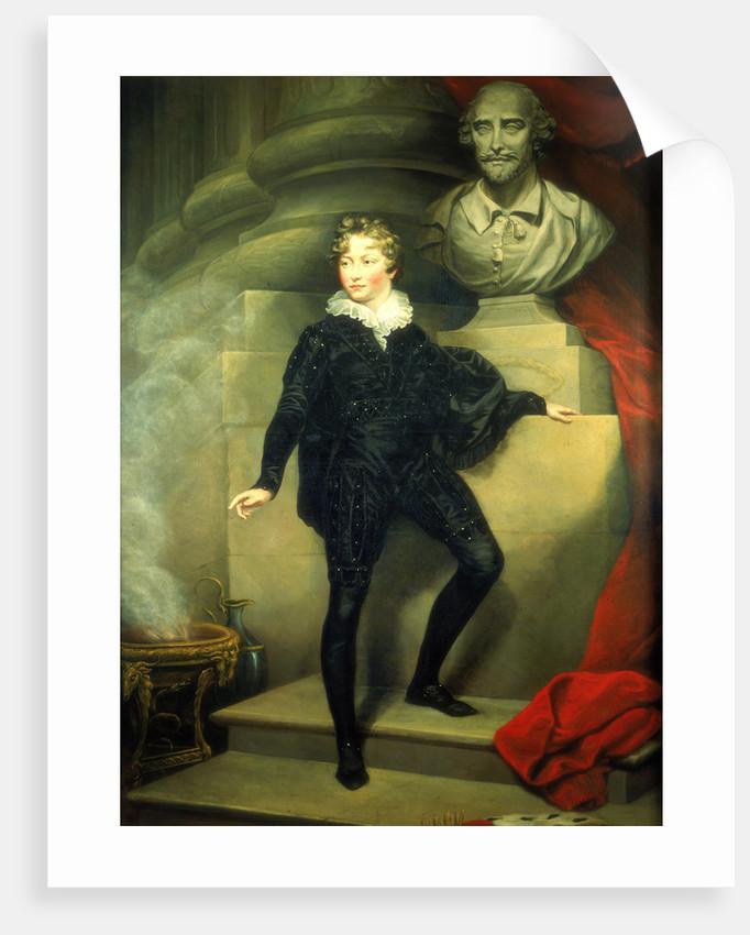 Master Betty as Hamlet by James Northcote
