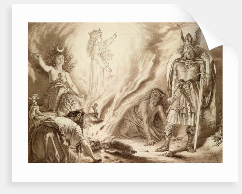 Macbeth, Act IV, Sc. i. by Sir Joseph Noel Paton