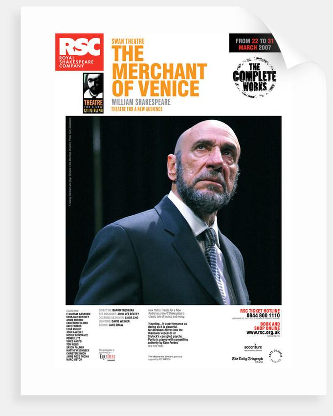 The Merchant of Venice, 2007 by Darko Tresnjak