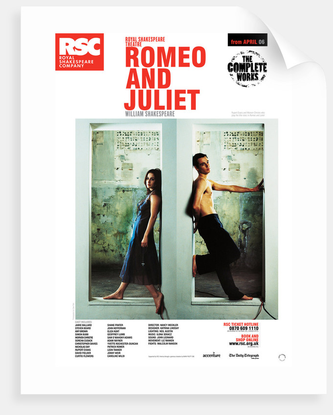 Romeo and Juliet, 2006 by Nancy Meckler