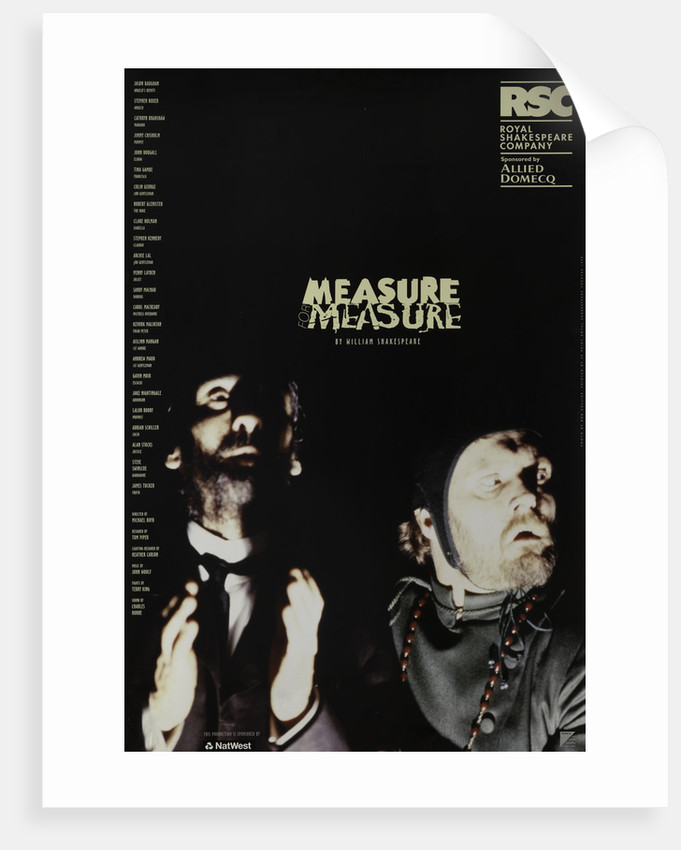 Measure for Measure, 1998 by Michael Boyd