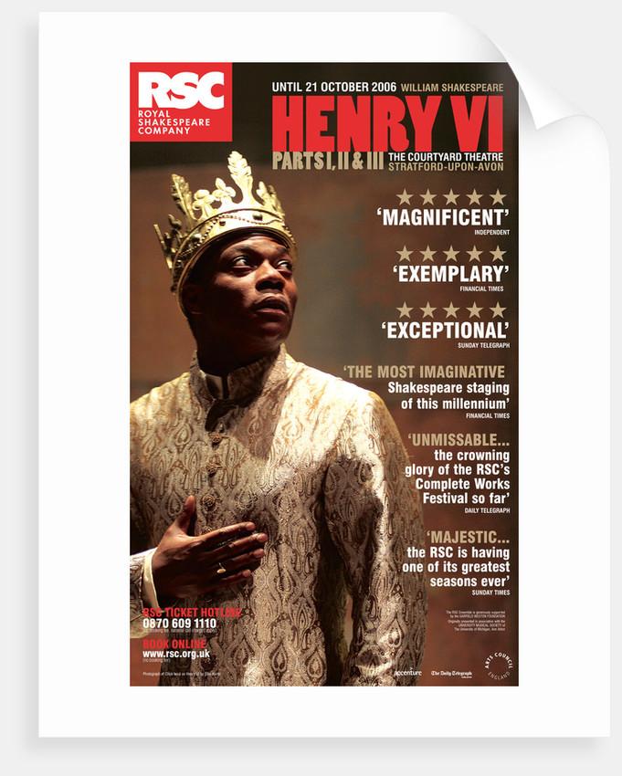 Henry VI Parts I, II & III, 2006 by Michael Boyd