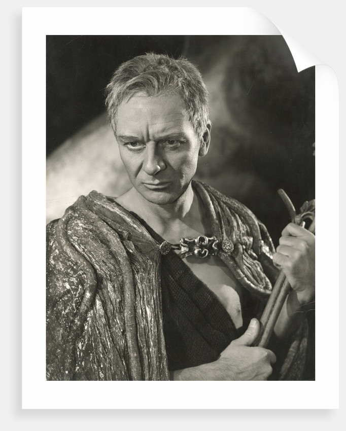 The Tempest 1957, John Gielgud as Prospero by Angus McBean