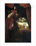 Henry VI, Pt. 2, Act III, Sc. iii, The Death of Cardinal Beaufort. by Joshua Reynolds