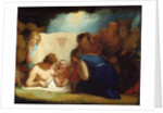The Infant Shakespeare attended by Nature and the Passions by George Romney