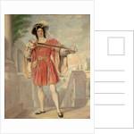James William Wallack (c. 1794-1864) as Mercutio. Romeo and Juliet, Act III, Sc.i by Nicolas Jospeh Crowley