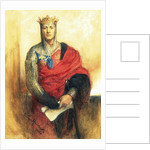 Lewis Waller as Henry V by Arthur Hacker