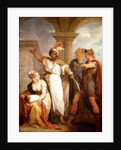 Titus Andronicus, Act IV, Sc. ii, Aaron the Moor, Demetrius, Nurse and Child by Thomas Kirk