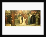 Measure for Measure, Act V, Sc. i, Isabella appealing to the Duke by Frederick William Davis