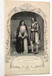 Miss Glyn and Mr Hoskins as Isabella and Lucio by Anonymous