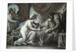 Lear and Cordelia by Benjamin West