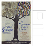 The Beaux' Stratagem / A Midsummer Night's Dream, 1988/89 by Clifford Williams