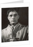 Henry IV Part 1 1951, Richard Burton as Prince Hal by Angus McBean