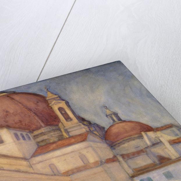 Piazza San Lorenzo, Florence by Mabel Frances Layng