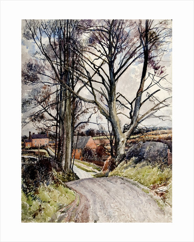 Staffordshire Lane by Reginald Haggar