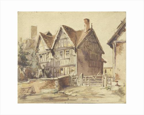Wigginton Old Hall by Thomas Peploe Wood