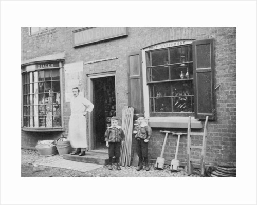 David Brown's Ironmongers, Brewood by Anonymous