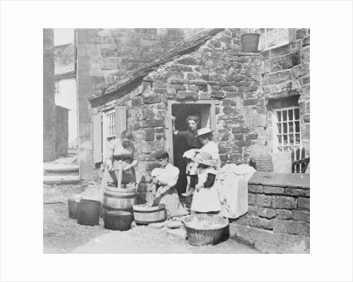 Washday in Longnor by Anonymous